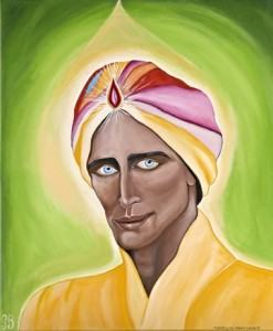 Lord Maha Chohan painting by Glenn Lewis